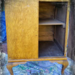 "Up cycled ""Love Create Inspired"" Cupboard"
