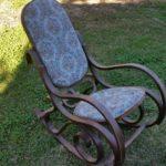 Vintage Rocking Chair Updo