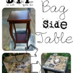 Paper Bag Side Table