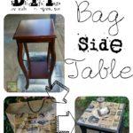 Paper Bag Side Table