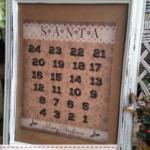 FREE Vintage Santa Christmas Countdown Printable