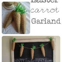 DIY Easter Jute Carrot Garland |www.raggedy-bits.com