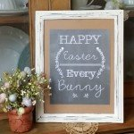 Grab your very own FREE Easter Printable to adorn your Easter decorating! | www.raggedy-bits.com