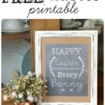 FREE Happy Easter Every Bunny Printable