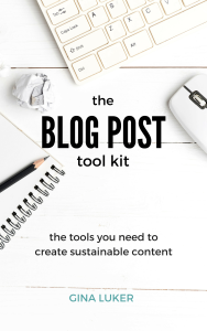 An absolute must have if your starting out with your blog! |www.raggedy-bits.com
