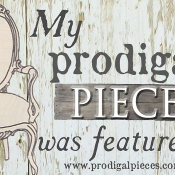 Prodigal Pieces - What's your Prodigal Piece