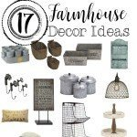 17 Farmhouse Decor Ideas | www.raggedy-bits.com