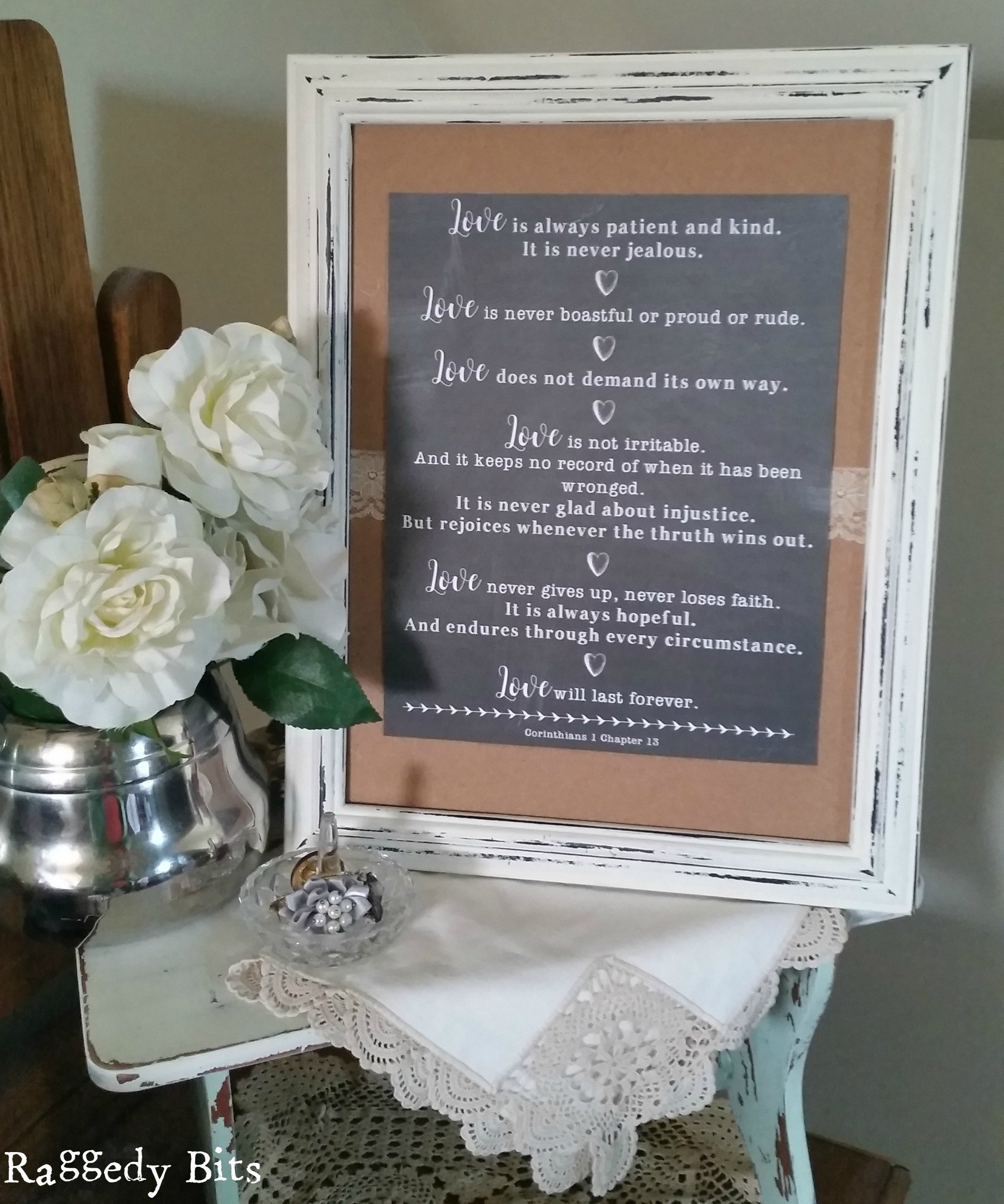 Diy Wedding Anniversary Gift Idea Raggedy Bits