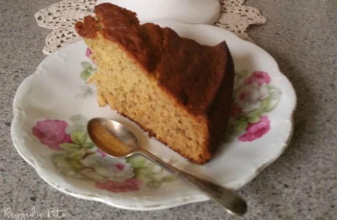 Sharing my Granny's Delicious Banana Cake recipe with you. I have so many fond memories making this recipe with my Granny and I hope you will too! |www.raggedy-bits.com