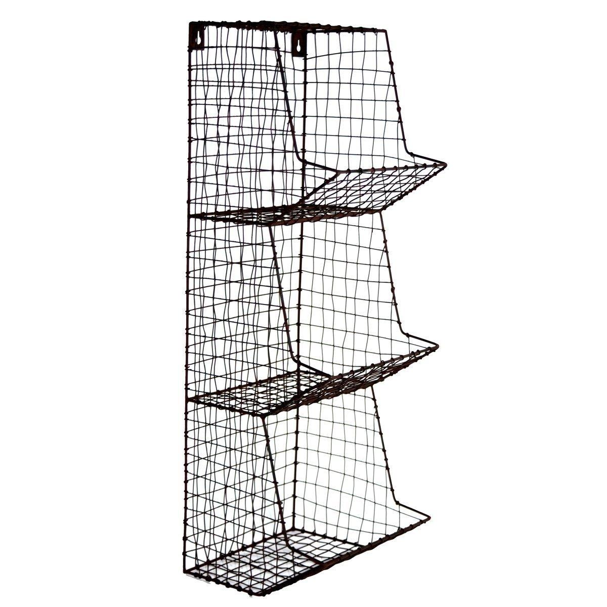 Farmhouse Wire Wall Storage Bins - Raggedy Bits