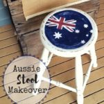 Aussie Stool Makeover
