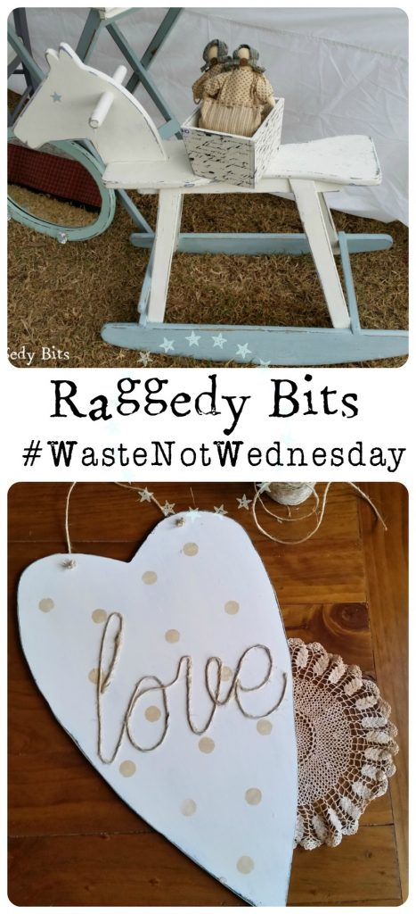 My Waste Not Wednesday Projects for the week | www.raggedy-bits.com