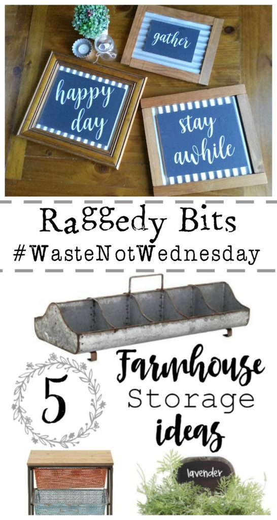 Raggedy Bits Waste Not Wednesday Projects for the week | www.raggedy-bits.com