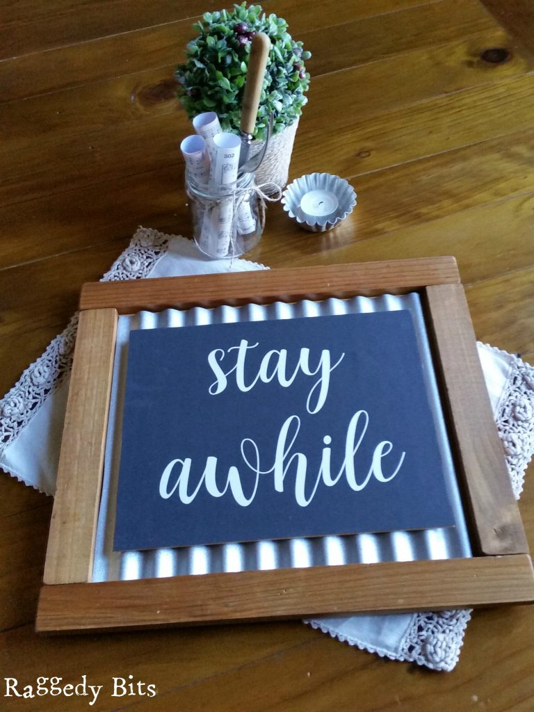 Think twice before you throw out your old pictures! Using some frames that I already had and were dated, I turned them into Repurposed Farmhouse Frames. Full tutorial. | www.raggedy-bits.com