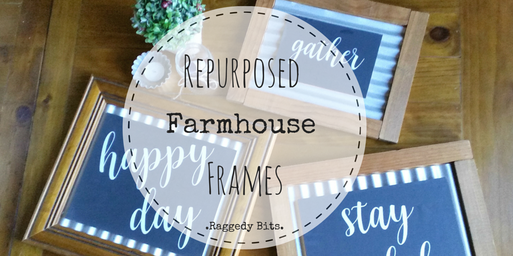 Repurposed Farmhouse Frames