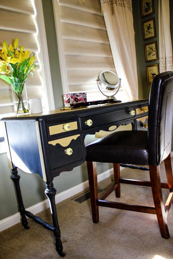 How to restore your furniture from tragic to magic which is a feature from Waste Not Wednesday-9 by Sassy Townhouse Living | www.raggedy-bits.com