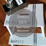 Farmhouse Bakery Ikea Stool Makeover