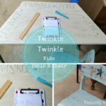 Twinkle Twinkle Kids Table and Chair