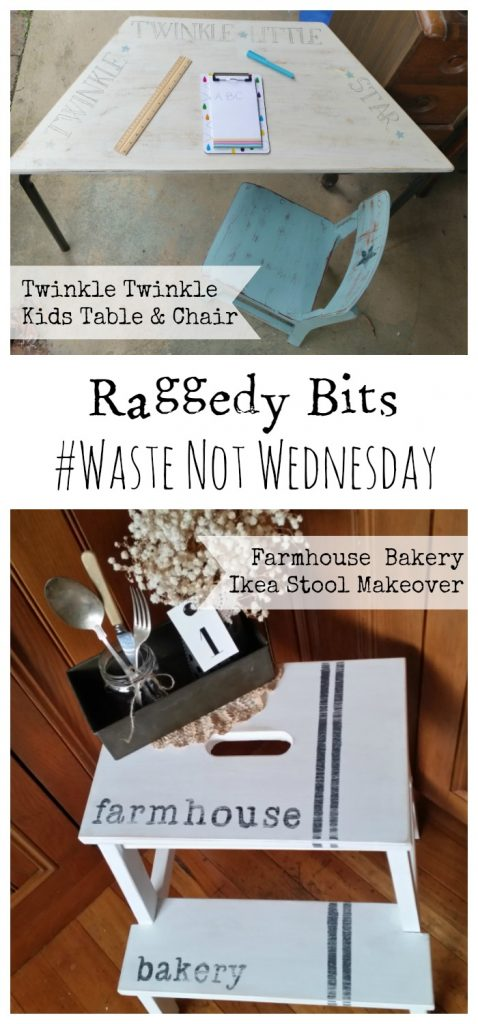 Waste Not Wednesday-11 Raggedy Bits Projects for the week | www.raggedy-bits.com