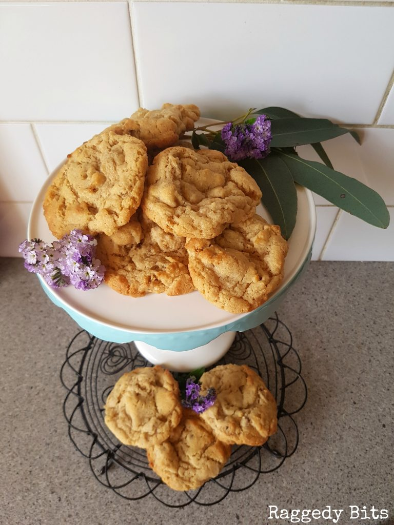 I dare you to try these Scrumptious Apricot and Crunchy Muesli Cookies! Must be served with coffee and tea in toe | Printable Recipe | www.raggedy-bits.com