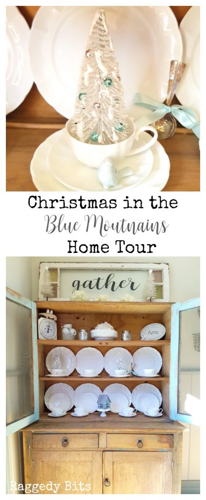 Waste Not Wednesday-29 Raggedy Bits Projects for the week | Christmas in the Blue Mountains Home Tour | www.raggedy-bits.com