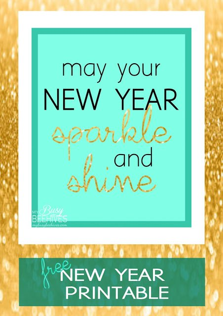 Sparkly New Year which is a feature from Waste Not Wednesday-32 by My Busy Beehives | www.raggedy-bits.com