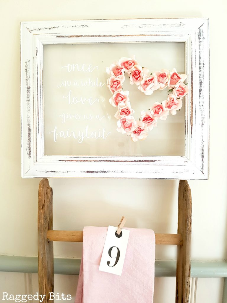 5 Fun Ways to Add Romance to your Decor with DIY projects. Would also make fun Wedding Decor | Full tutorials | www.raggedy-bits.com