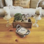 Repurposed Vintage Farmhouse Candle Holders