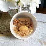 Vintage Farmhouse Repurposed Nest Teacups