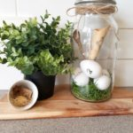 Easy Easter Inspired Mason Jars