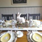 Spring-Easter Home Tour Vintage Farmhouse Style