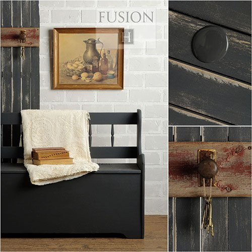 Fusion Mineral Paint - Ash | www.raggedy-bits.com