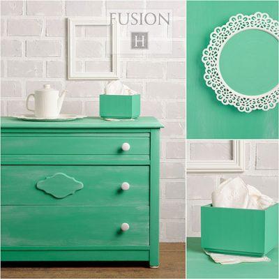 Fusion Mineral Paint - Ceramic | www.raggedy-bits.com