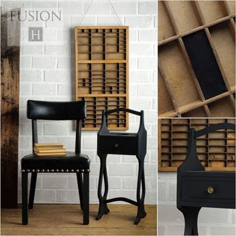 Fusion Mineral Paint - Coal Black | www.raggedy-bits.com