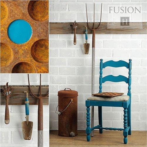 Fusion Mineral Paint - Renfrew Blue | www.raggedy-bits.com