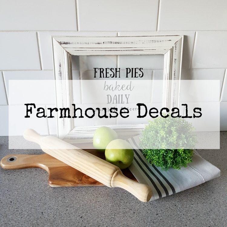 Farmhouse Decals