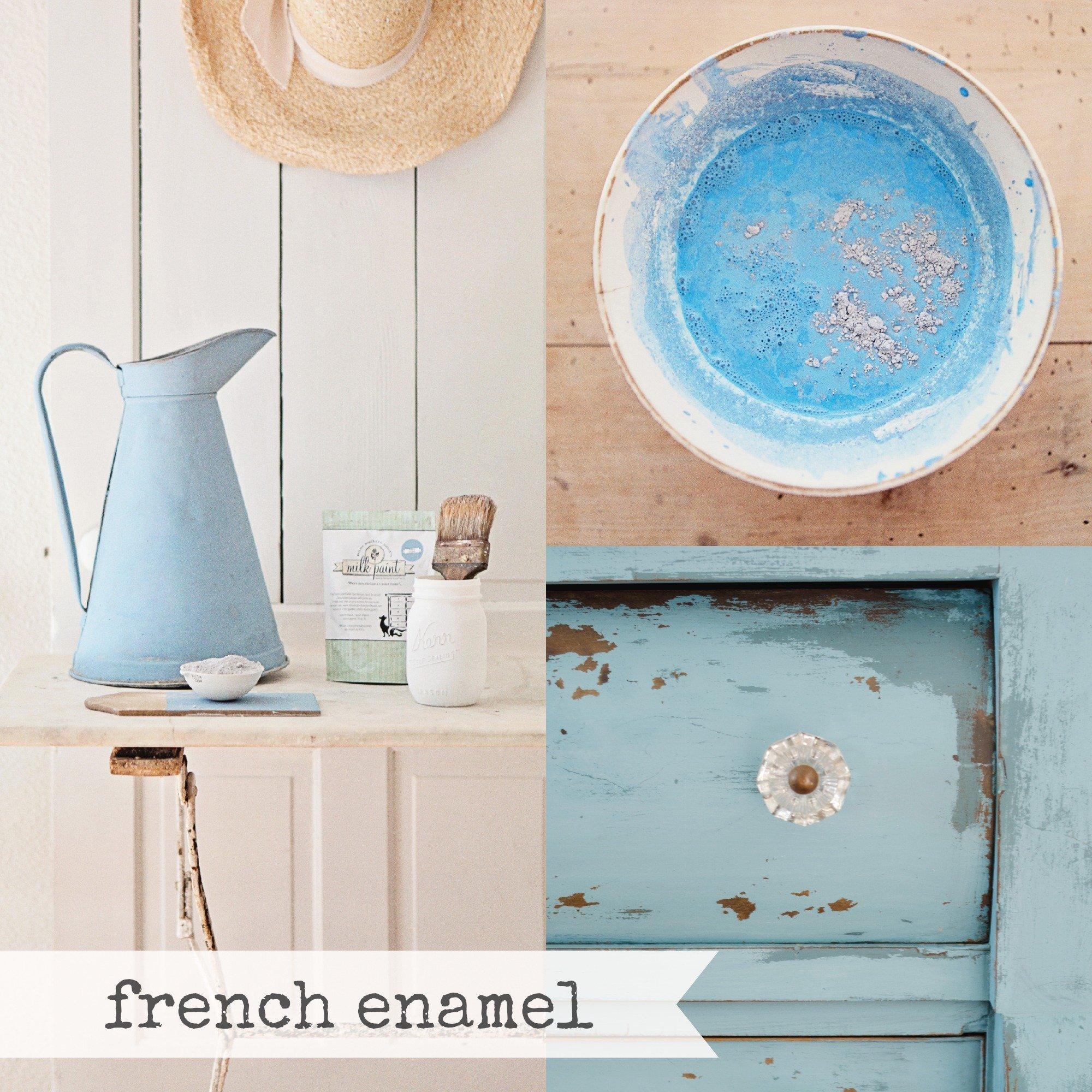 Miss Mustard Seed Milk Paint - French Enamel - Raggedy Bits
