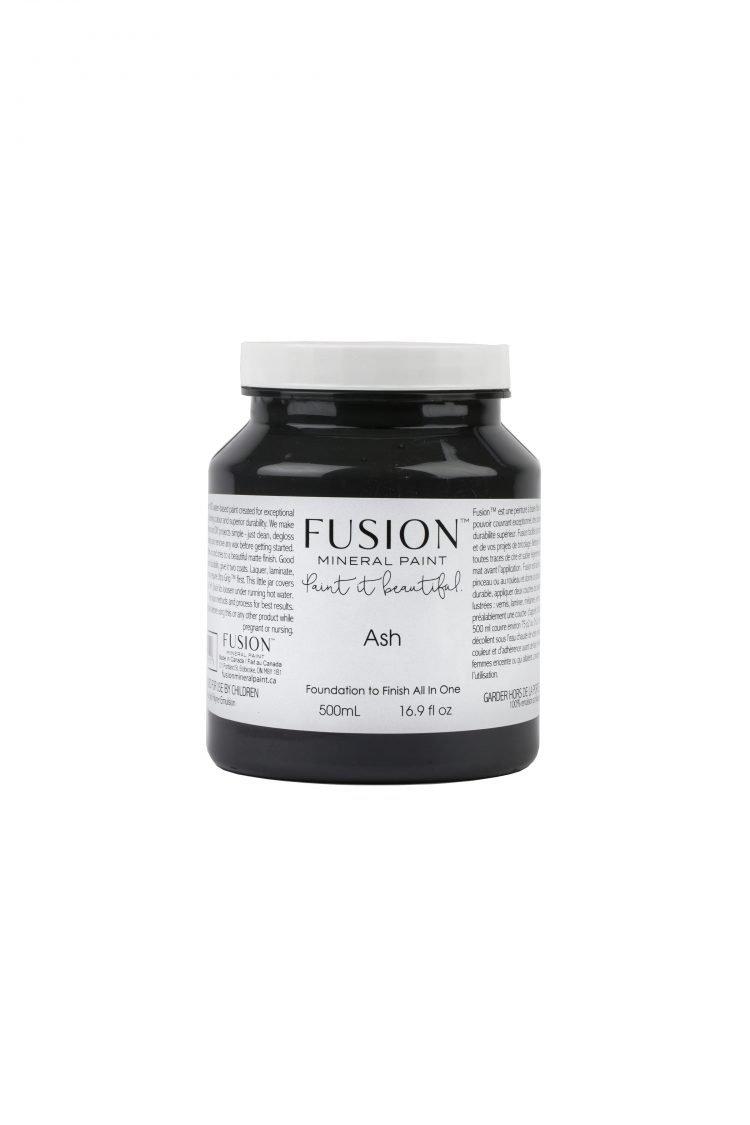 Fusion Mineral Paint - Ash | www.raggedy-bits.com