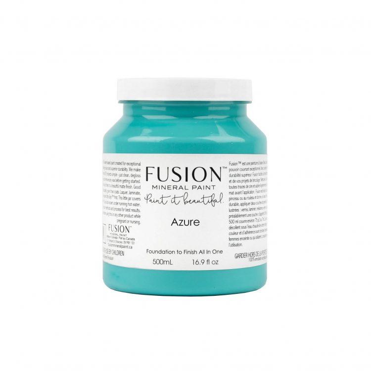 Fusion Mineral Paint - Azure | www.raggedy-bits.com