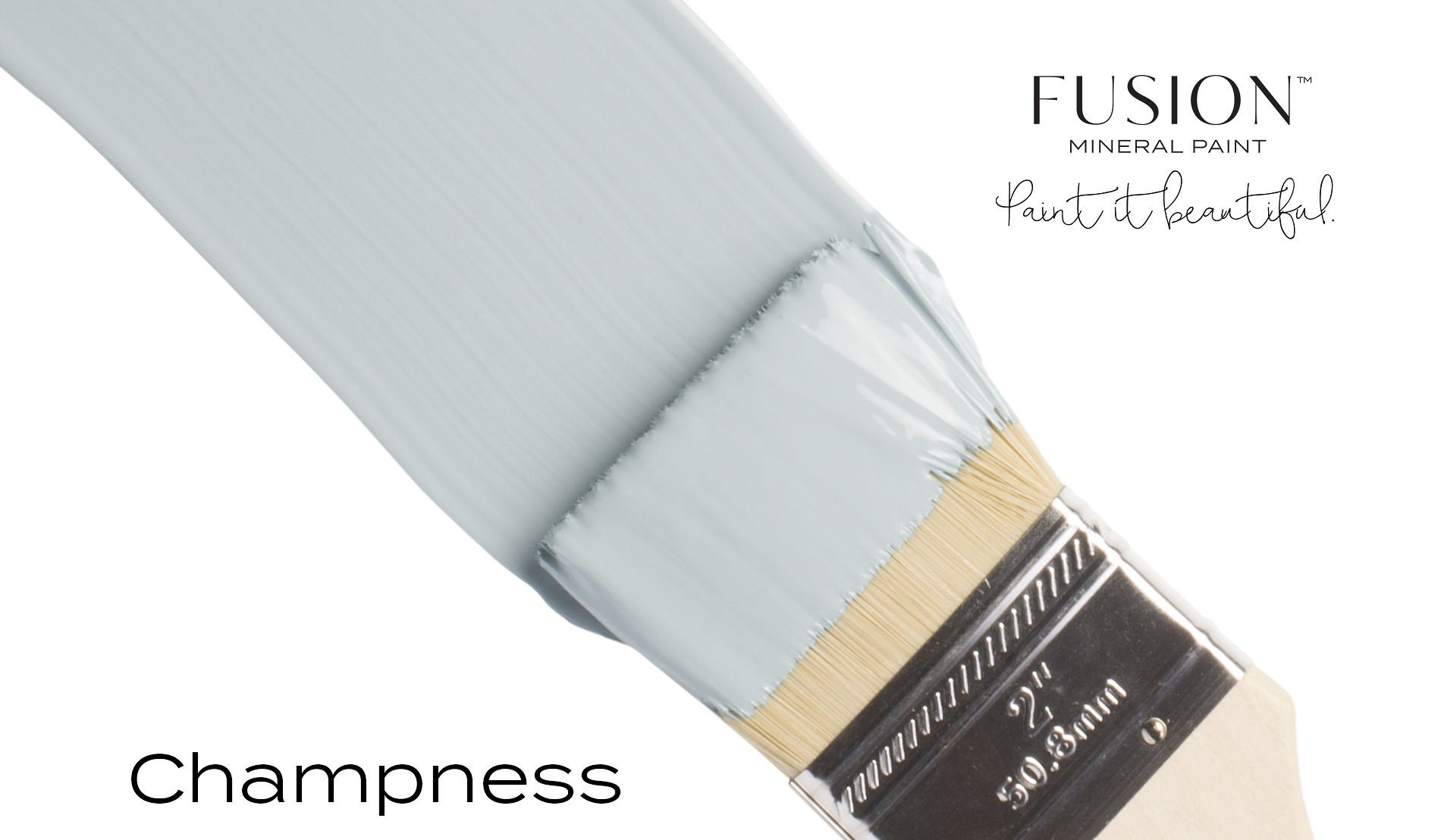 Fusion Mineral Paint Brushstroke - Champness | www.raggedy-bits.com