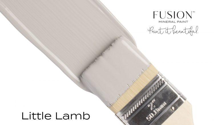 Fusion Mineral Paint Brushstroke - Little Lamb   www.raggedy-bits.com