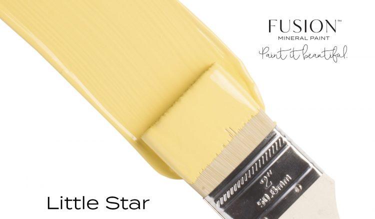 Fusion Mineral Paint Brushstroke - Little Star | www.raggedy-bits.com