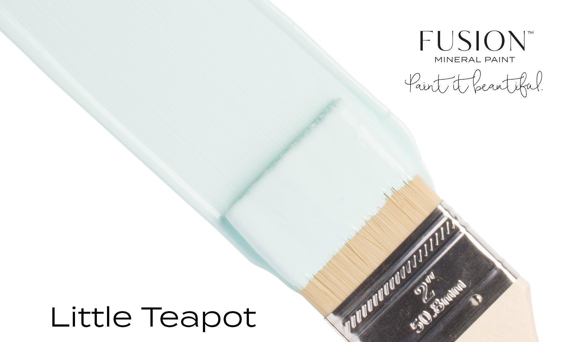 Fusion Mineral Paint Brushstroke - Little Teapot | www.raggedy-bits.com