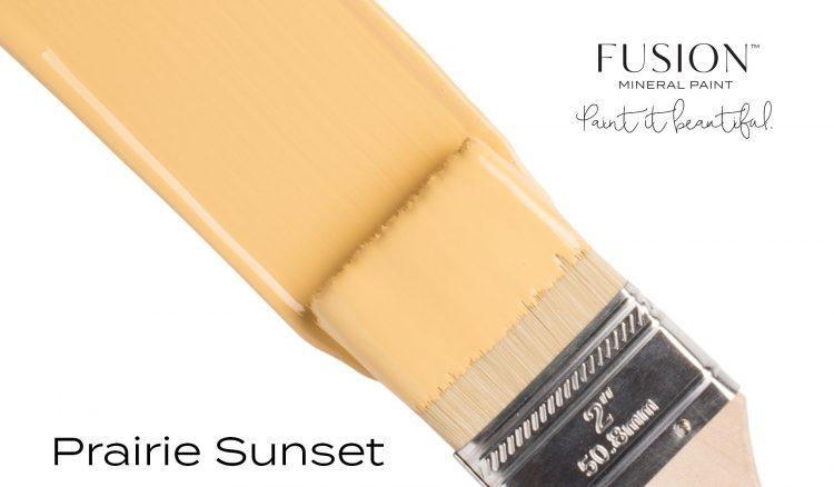 Fusion Mineral Paint Brushstroke - Prairie Sunset | www.raggedy-bits.com