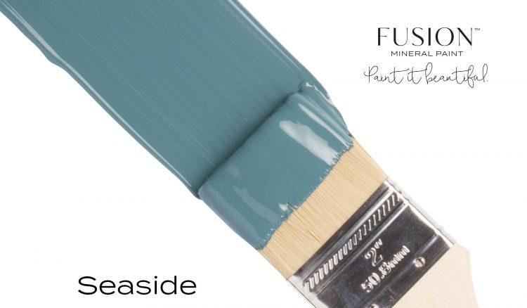 Fusion Mineral Paint Brushstroke - Seaside   www.raggedy-bits.com