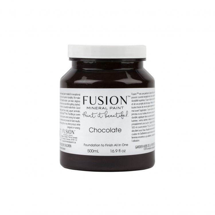 Fusion Mineral Paint - Chocolate | www.raggedy-bits.com