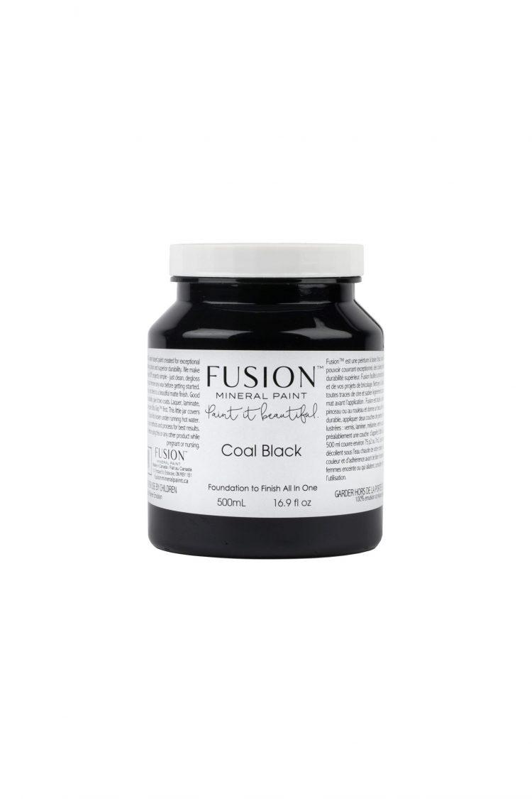 Fusion Mineral Paint - Coal Black | www.raggedy-bits.com