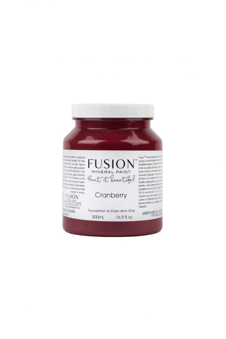 Fusion Mineral Paint - Cranberry | www.raggedy-bits.com