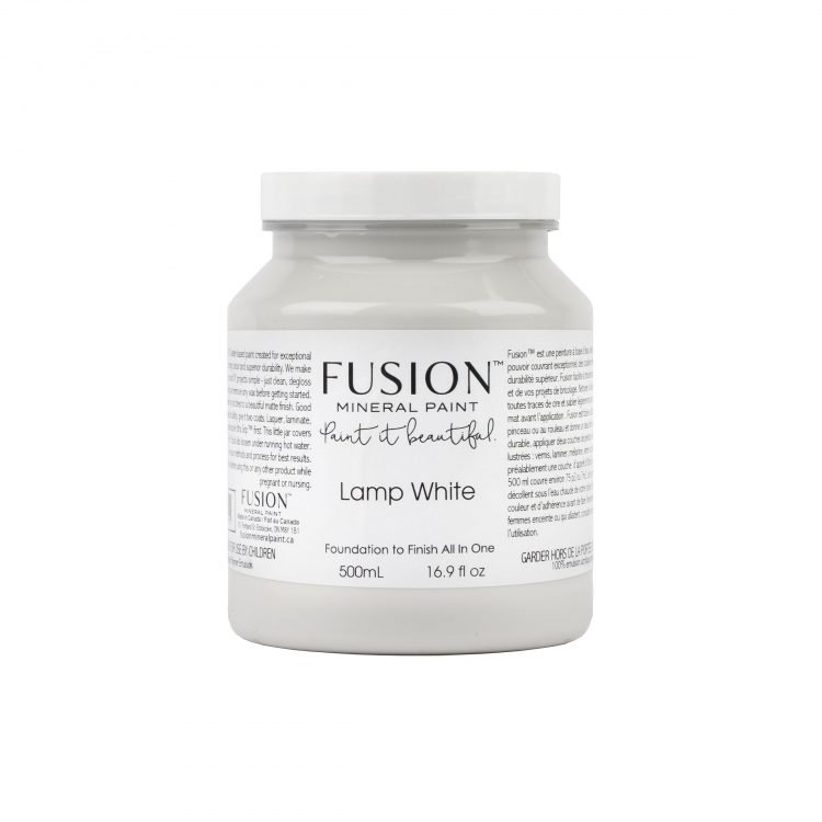 Fusion Mineral Paint - Lamp White | www.raggedy-bits.com