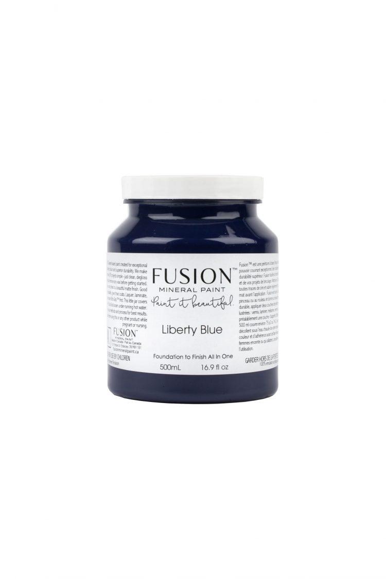 Fusion Mineral Paint - Liberty Blue   www.raggedy-bits.com
